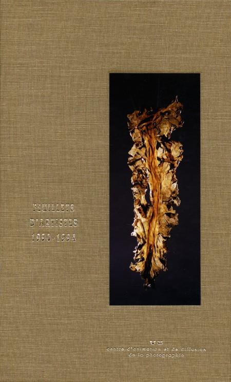 Feuillets d'artistes 1990-1994