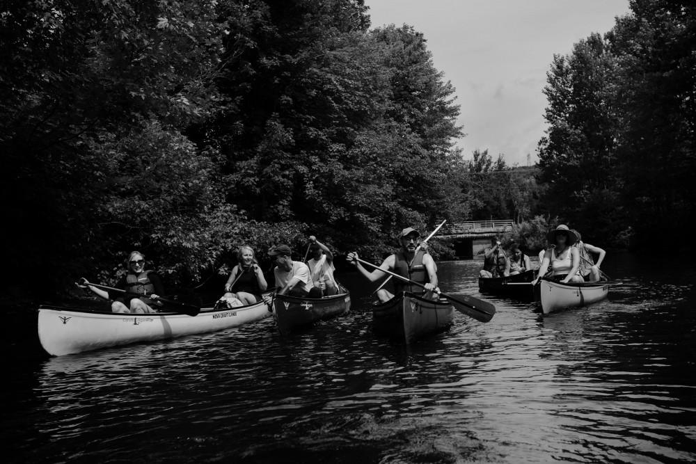 Yahndawa' : portages entre Wendake et Québec